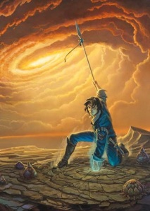 Of course, the cover of Words of Radiance, featuring Kaladin, gives a hint as to what kind of new challenge he faces. And do I need to say that Michael Whelan is an amazing artist? No? I will anyway.