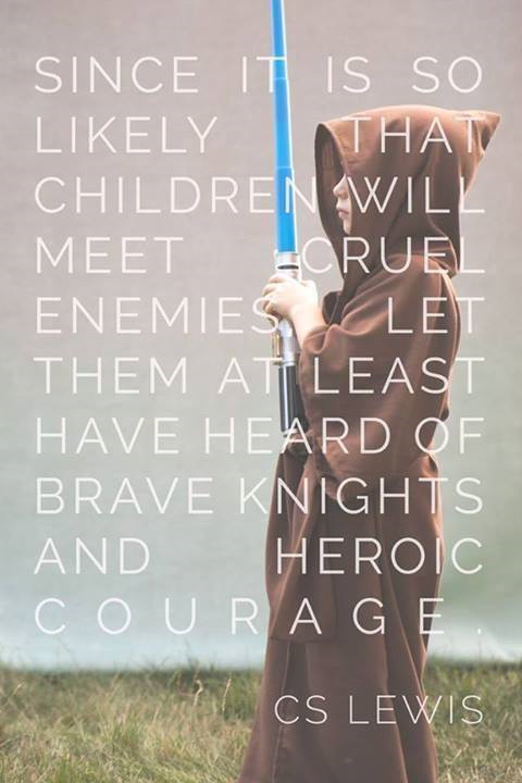 C S Lewis children and heroes