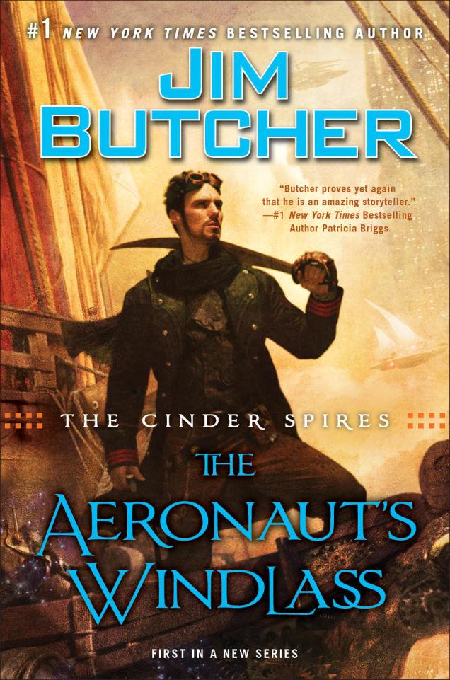 Jim Butcher Aeronaut's Windlass