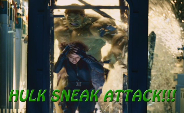 Photo 02 - Hulk Sneak Attack