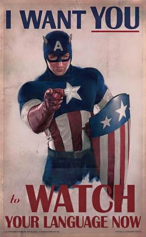 CaptainAmerica language 2